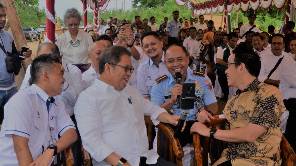 Kunjungan Kerja Menteri Kominfo
